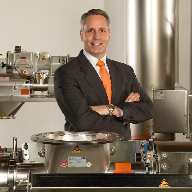 bulk material handling sales expert David Wall of AZO, Inc.