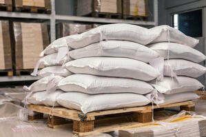 bulk bag unloading system can reduce labor and material costs compared to 50lb bags