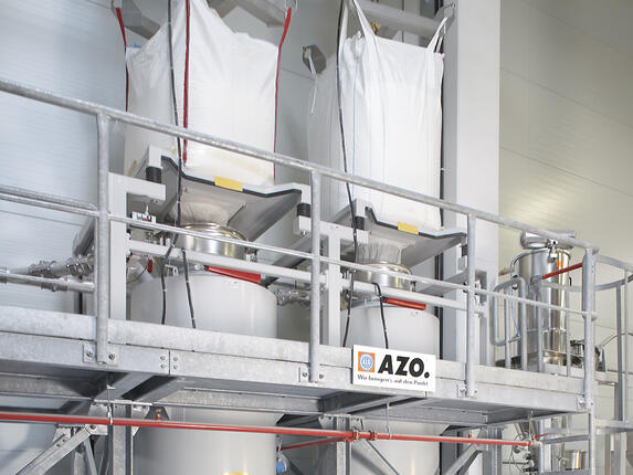 AZO big bag unloaders
