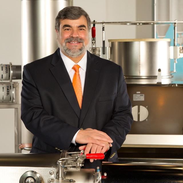 bulk material handling sales engineer Bill Nesti of AZO, Inc.