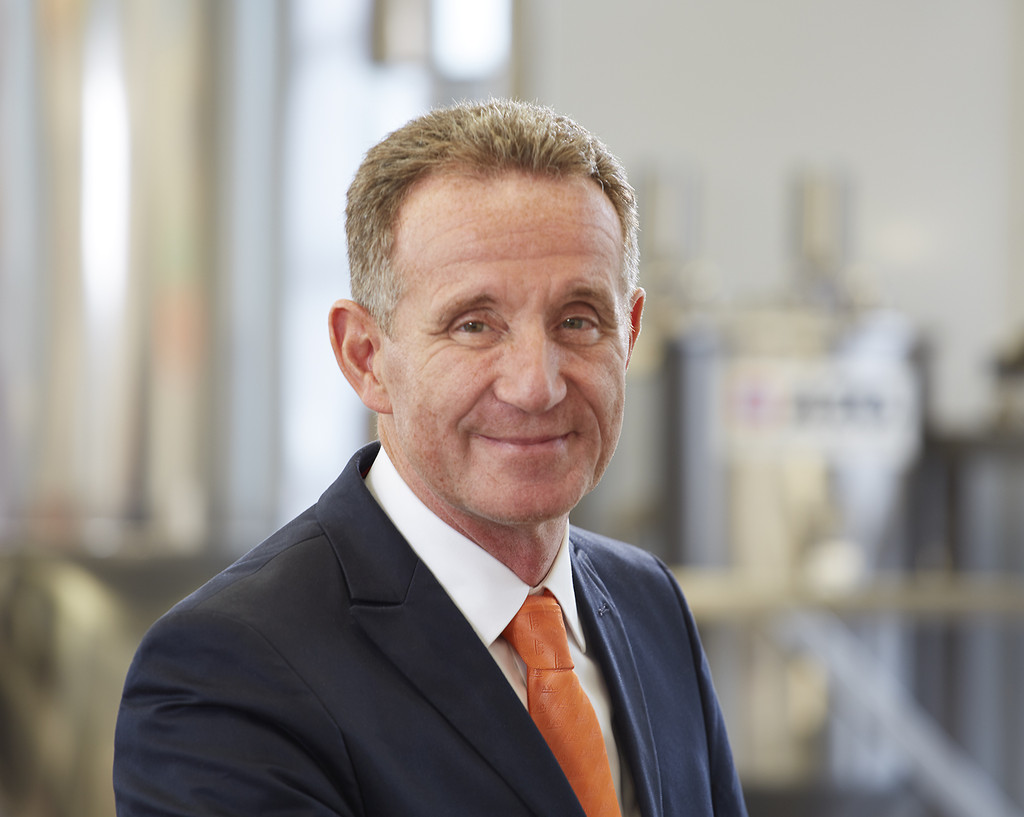 bulk material handling expert and AZO CEO Rainer Zimmermann