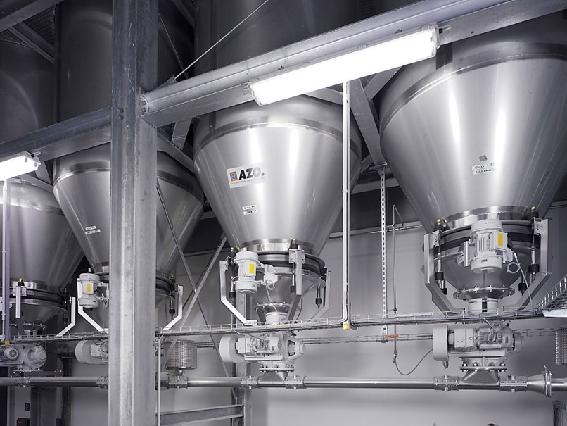 dilute phase vacuum pneumatic conveying system